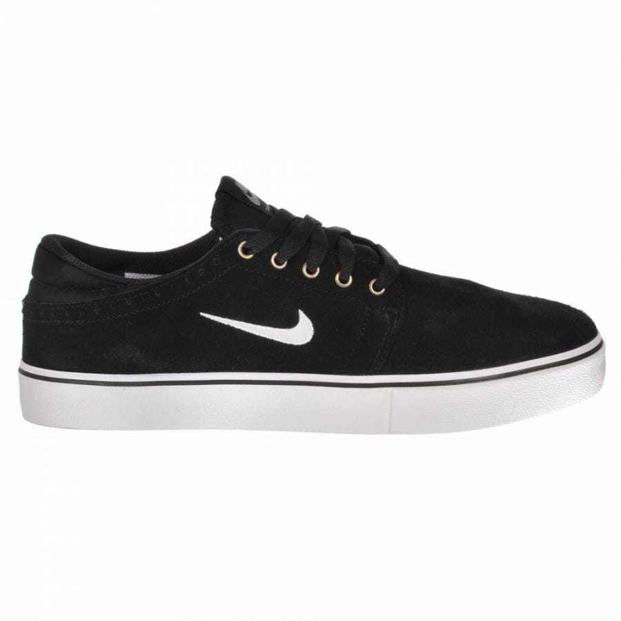 nike sb nike sb team edition skate shoes black swan gum