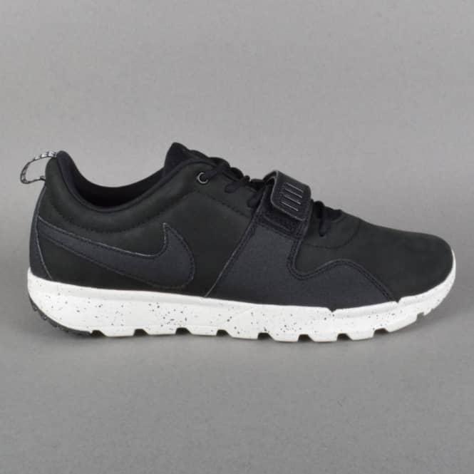 Zapatillas de SB skate DE Nike skate SB de Trainerendor traseras negras f7e010