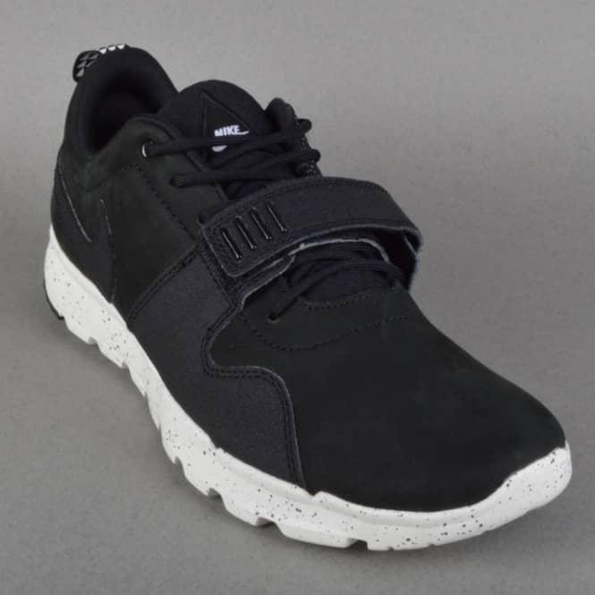 Nike Trainerendor Skate Shoes - Black/Black