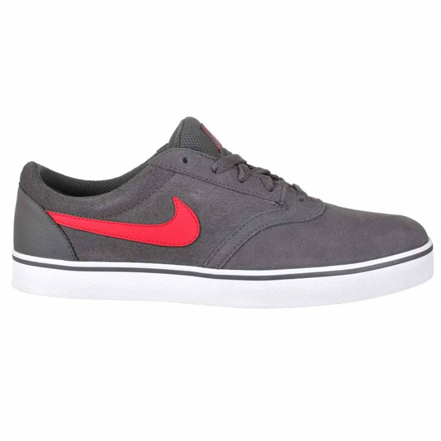 Red Nike Skate Shoes