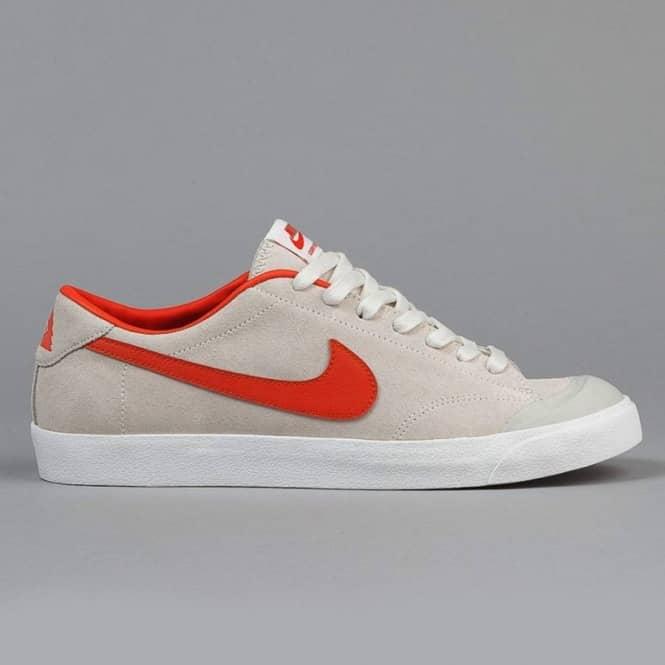 new concept 6dbef 45586 Nike SB Nike SB X Poler Stuff Zoom All Court CK - Ivory University  Orange-Light Bone