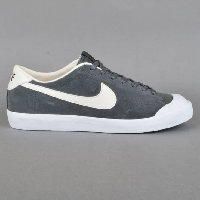 Nike SB Zoom All Court CK Skate Shoes - Anthracite/Phantom-White-Black