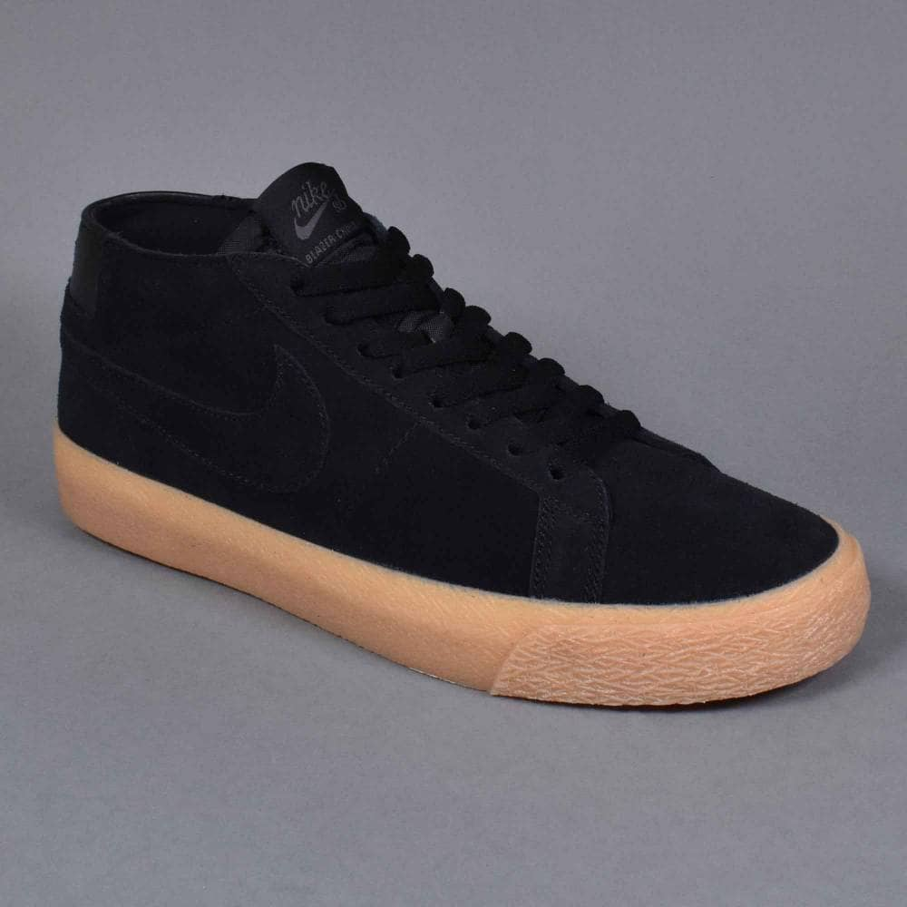 great prices classic style separation shoes Zoom Blazer Chukka Skate Shoes - Black/Black-Thunder Grey-Gum Light Brown
