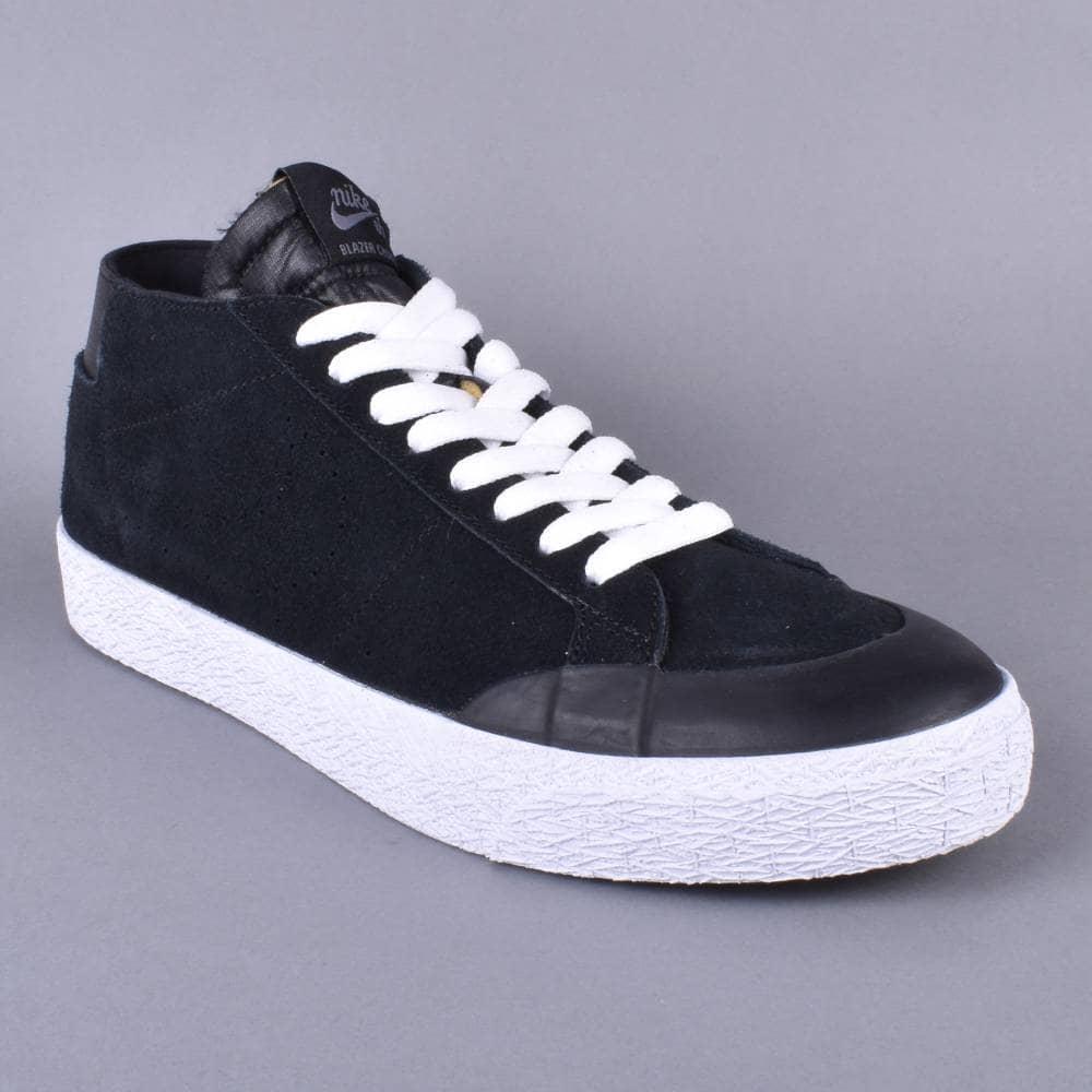 8fa75c0326ef Nike SB Zoom Blazer Chukka XT Skate Shoes - Black Black-Gunsmoke ...