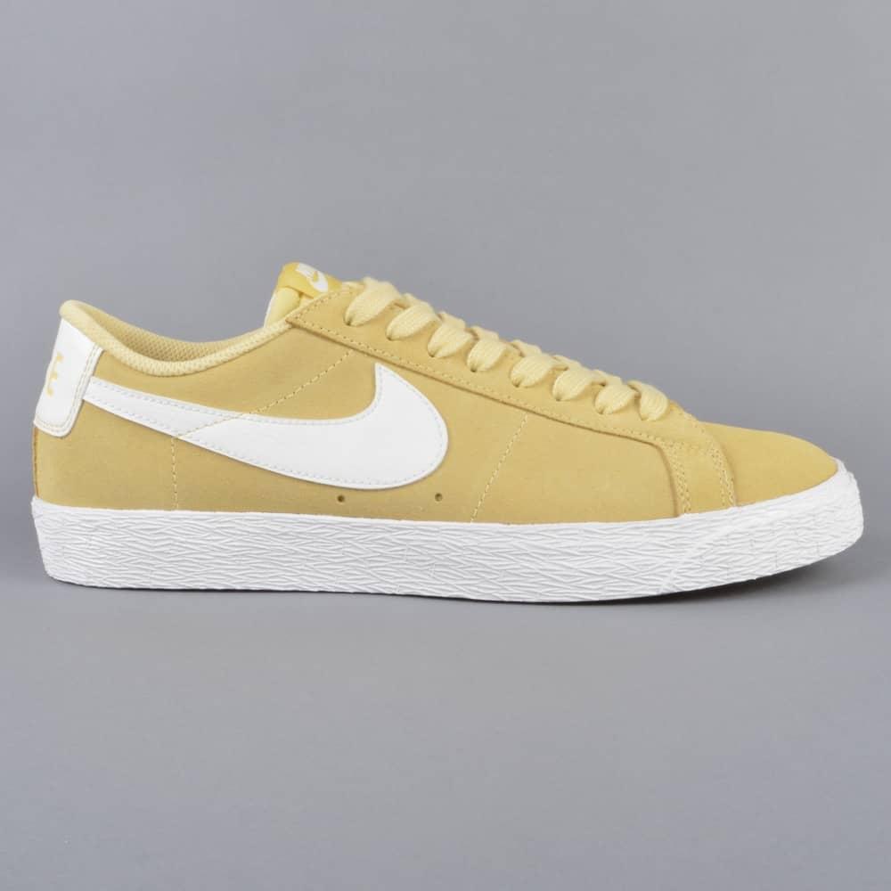 cd510f8b9bc9 Nike SB Zoom Blazer Low Skate Shoes - Lemon Wash Summit White-Summit ...