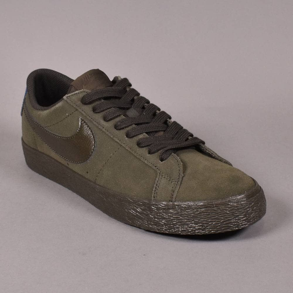 Preludio Del Norte Latón  Nike SB Zoom Blazer Low Skate Shoes - Sequoia/Sequoia-Blue Force - SKATE  SHOES from Native Skate Store UK