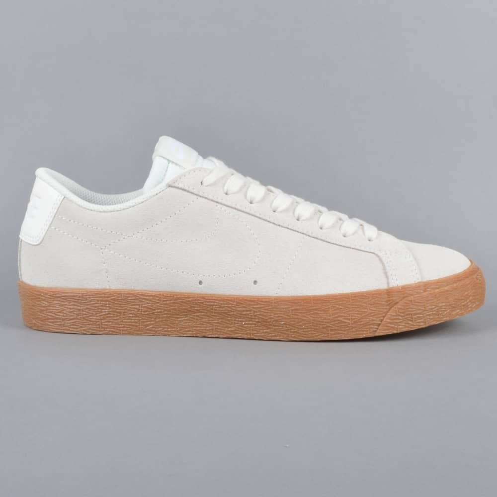 timeless design 3d2f7 26768 Zoom Blazer Low Skate Shoes - Summit White/Summit White