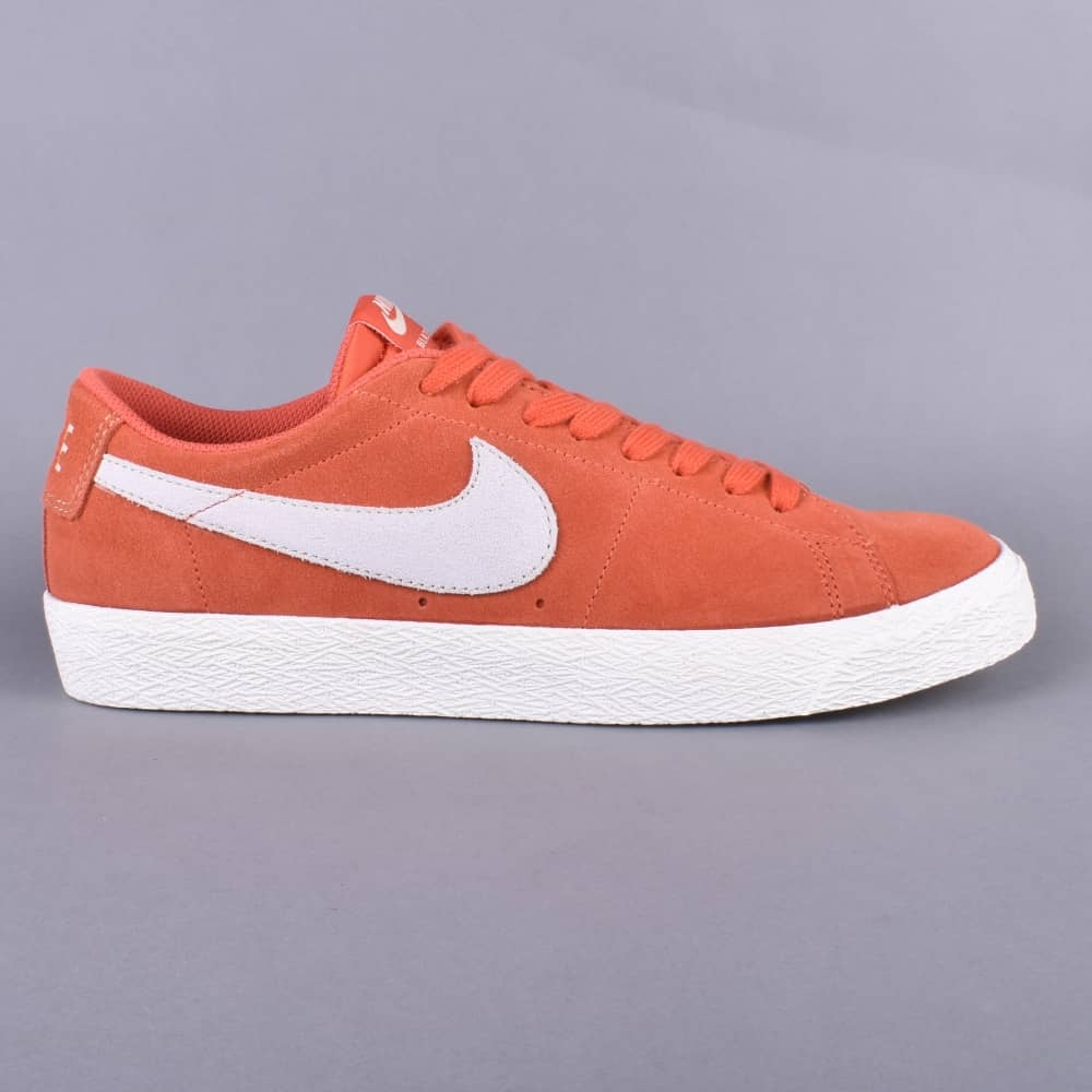 reputable site d0f62 54d2d Zoom Blazer Low Skate Shoes - Vintage Coral/Fossil-Sail