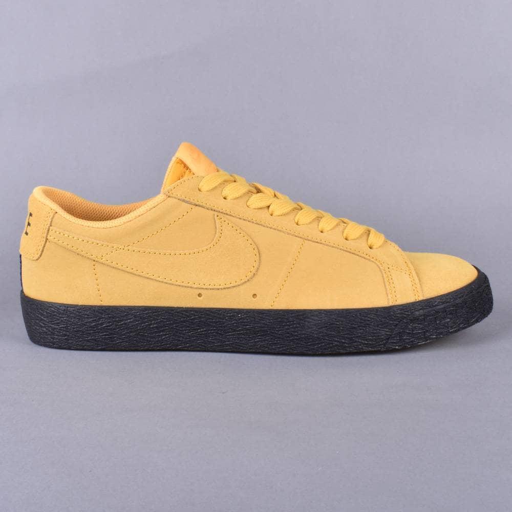 4399217c2796c Nike SB Zoom Blazer Low Skate Shoes - Yellow Ochre Yellow Ochre ...