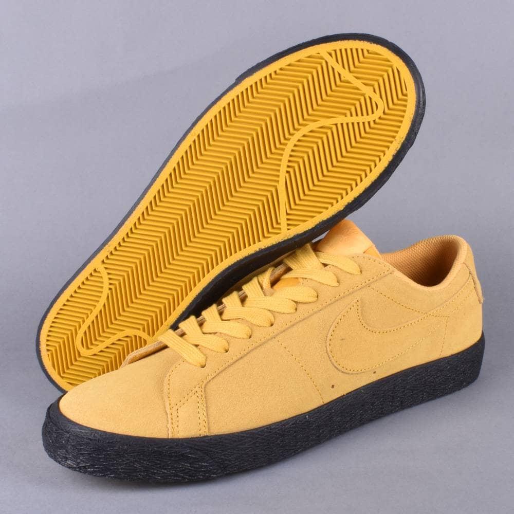 huge discount 0473a e47e5 ... where to buy zoom blazer low skate shoes yellow ochre yellow ochre  black 7263c d3e4f