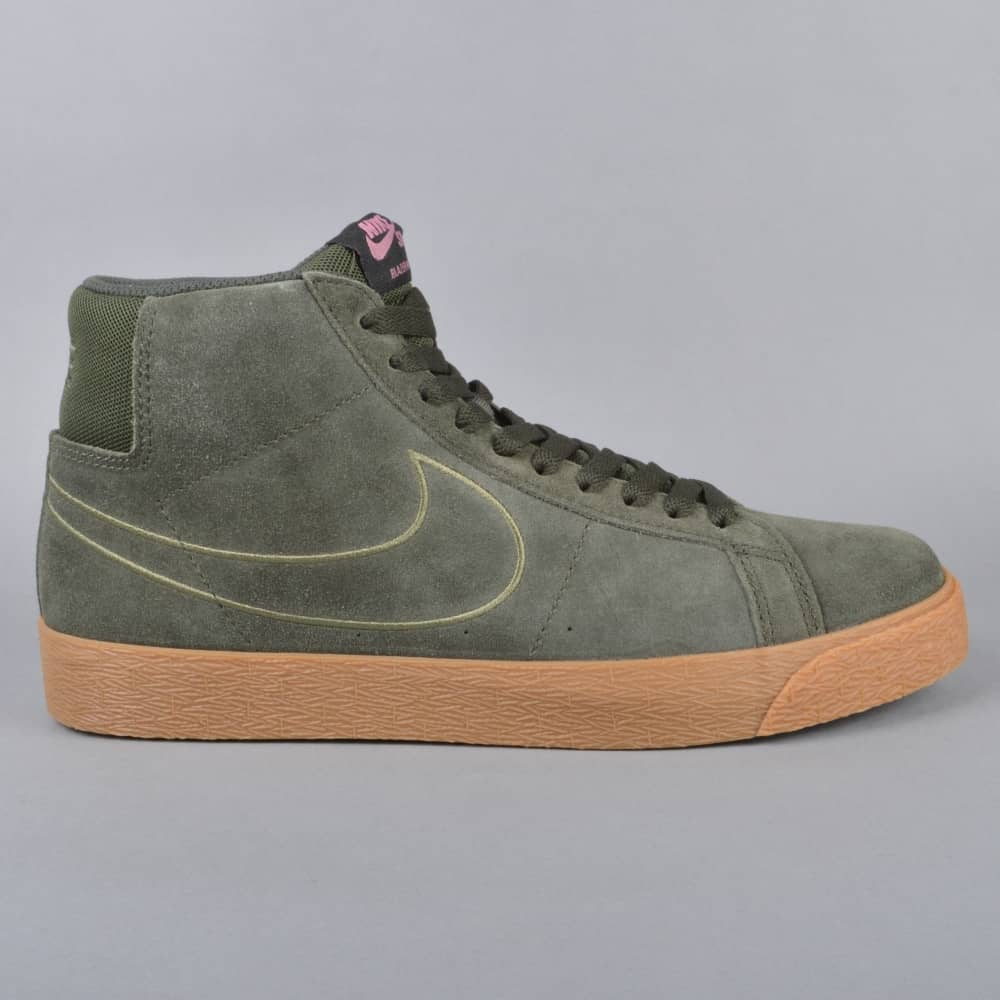 on sale 6a55e 25ca4 Zoom Blazer Mid Skate Shoes - Sequoia Sequoia-Medium Olive
