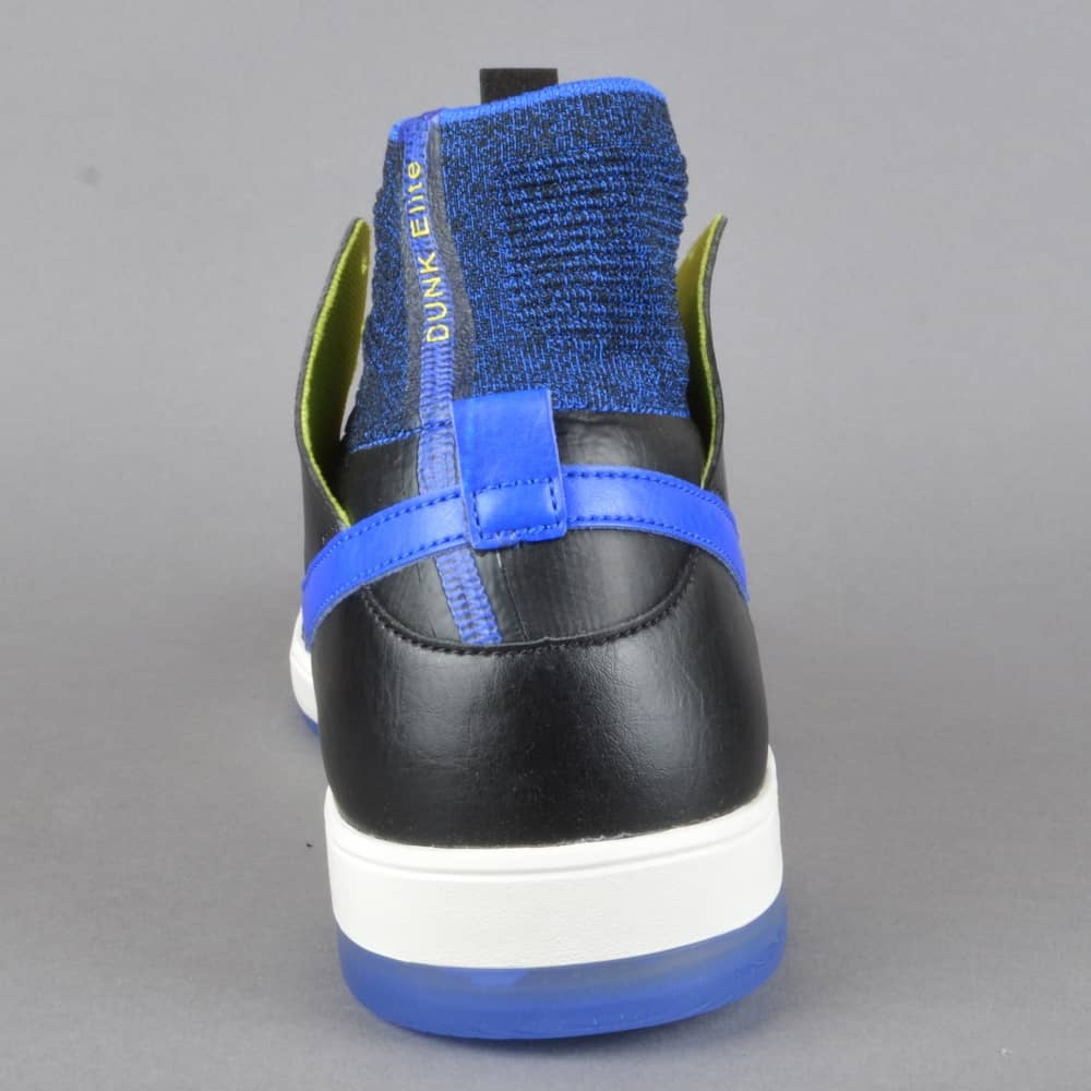 2c6a4baa12ed4 Zoom Dunk High ELT QS Kevin Terpening Skate Shoes - Black Racer Blue-Sail