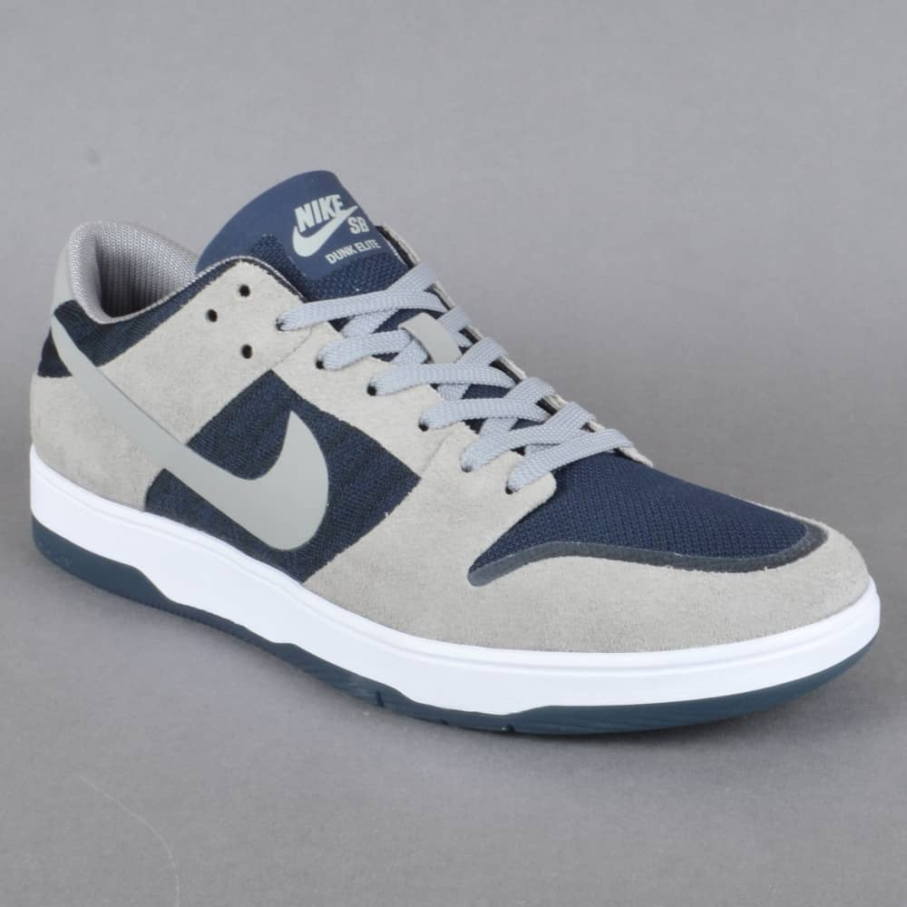 910c606b281c5 ... promo code for zoom dunk low elite skate shoes medium grey dark  obsidian white medium 83317