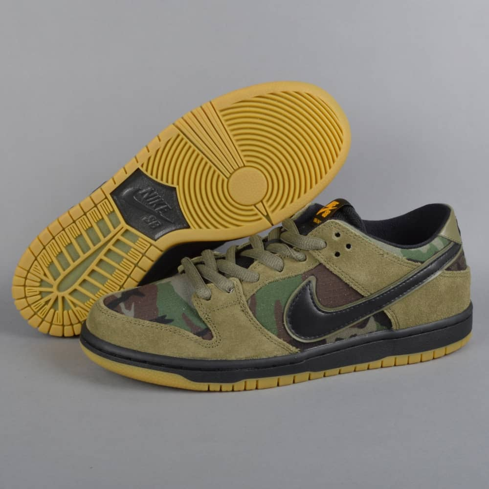 buy popular a262b 41894 ... denmark picture of nike dunk mens shoes low cut yellow inside green 123  6c5b8 c1663