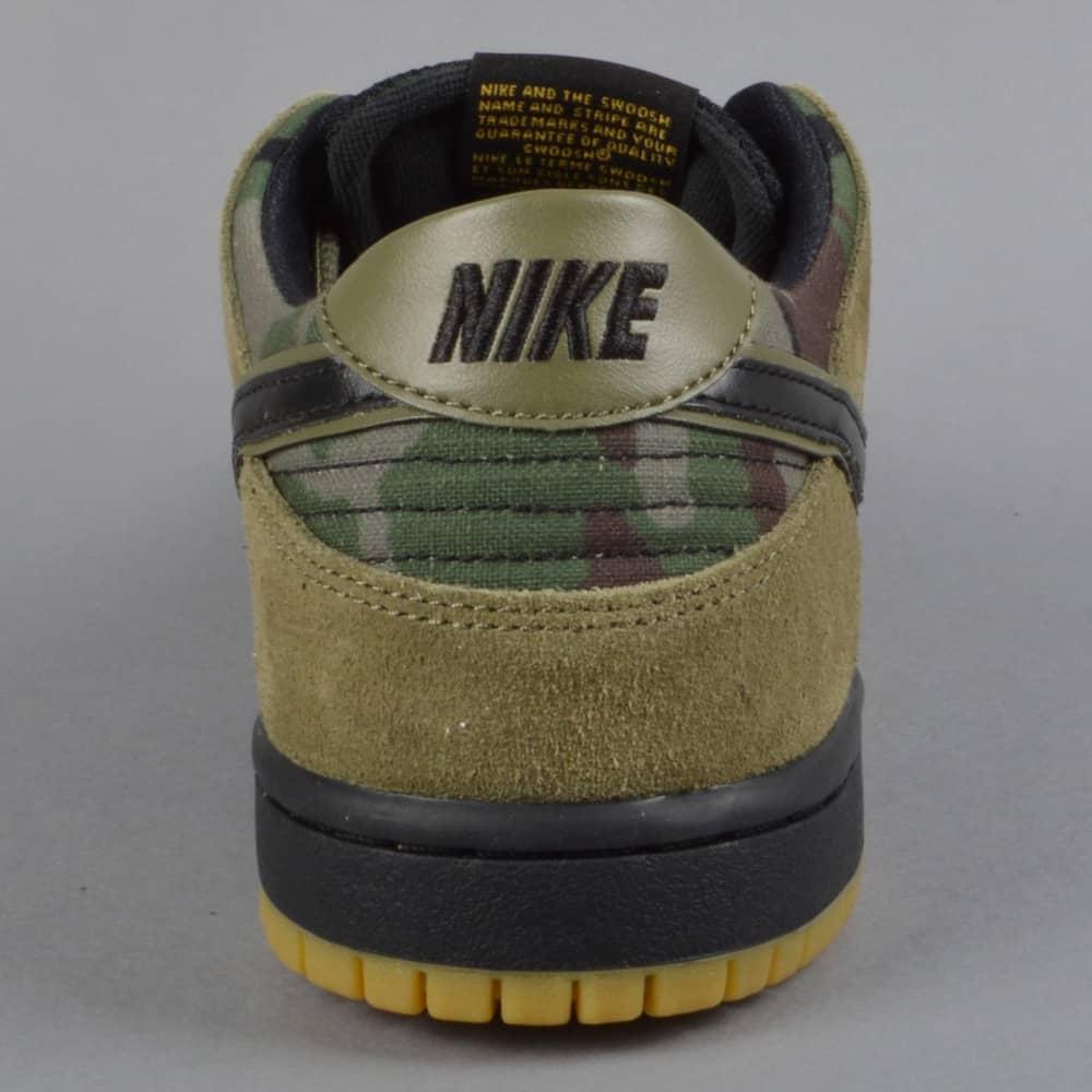 hot sale online 50e3c 2ce19 Zoom Dunk Low Pro Skate Shoes - Medium OliveGum Light BrownUniversity Gold