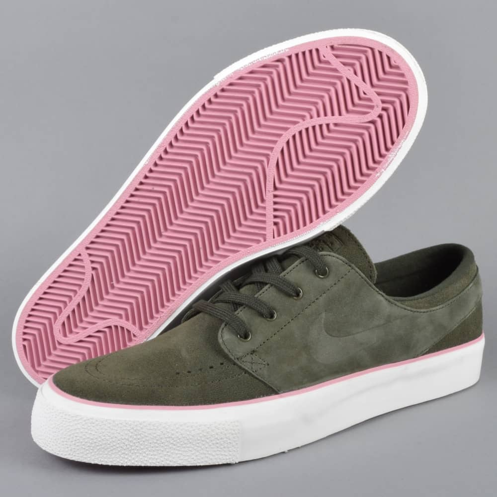 brand new 8318f 2a721 Zoom Janoski HT Skate Shoes - Sequoia Sequoia-Elemental Pink