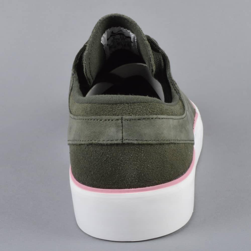brand new d38ee 2de8b Zoom Janoski HT Skate Shoes - Sequoia Sequoia-Elemental Pink