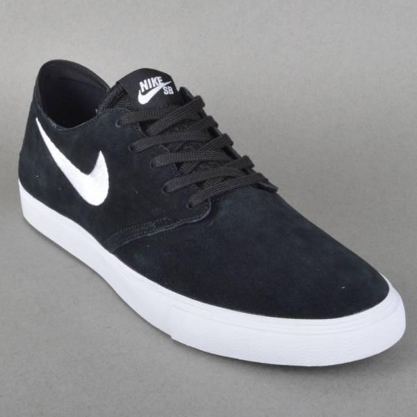 Zoom Oneshot SB Skate Shoe - Black/White
