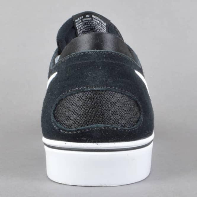 Zoom Oneshot SB Skate Shoes - Black/White-Gum Light Brown