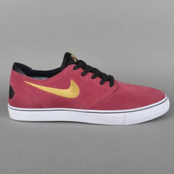 1c16ec192d2a Nike SB Zoom Oneshot SB Skate Shoes - Team Red Metallic Gold-Black ...