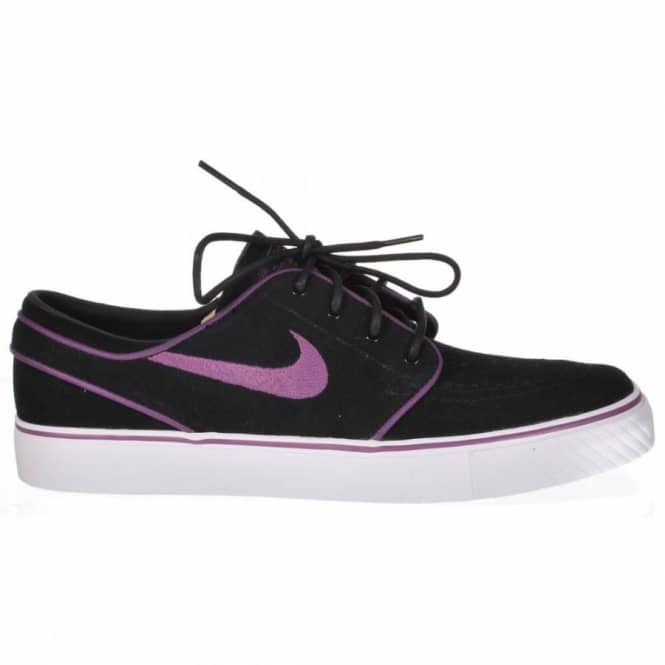 fe0815b2dcd4 Nike SB Zoom Stefan Janoski Black Vintage Purple-White Skate Shoes ...