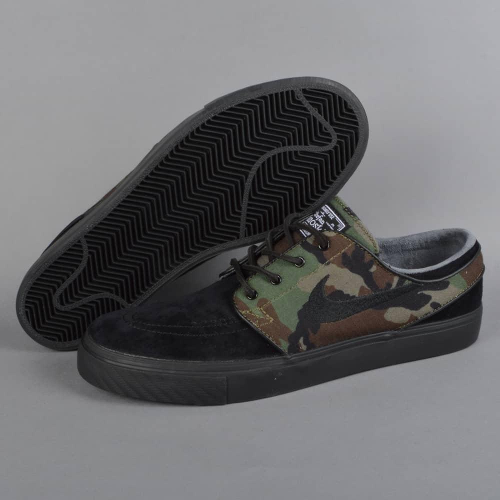 001531e7da116 Nike SB Zoom Stefan Janoski OG Skate Shoes - Black Medium Olive ...