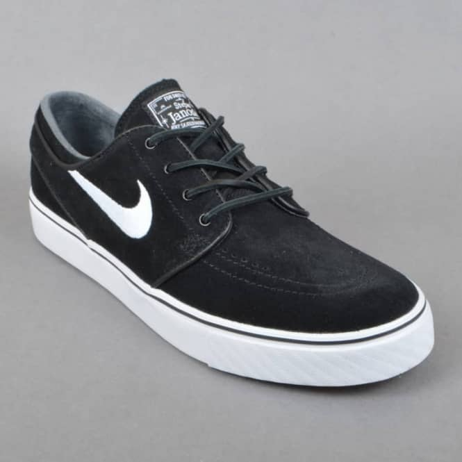93ed984382 Nike SB Zoom Stefan Janoski OG Skate Shoes - Black White-Gum Light ...