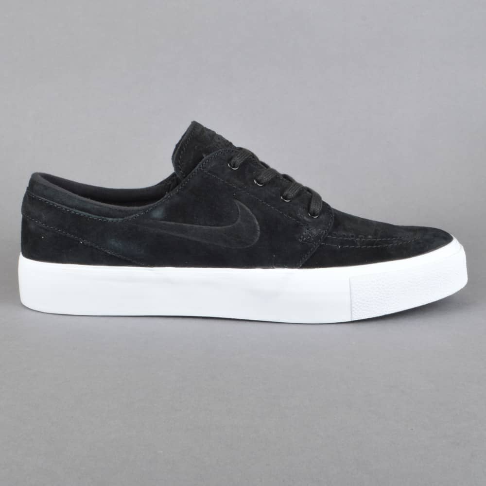 timeless design 5b6e4 85b71 Zoom Stefan Janoski Prem HT Skate Shoes - Black Black-White