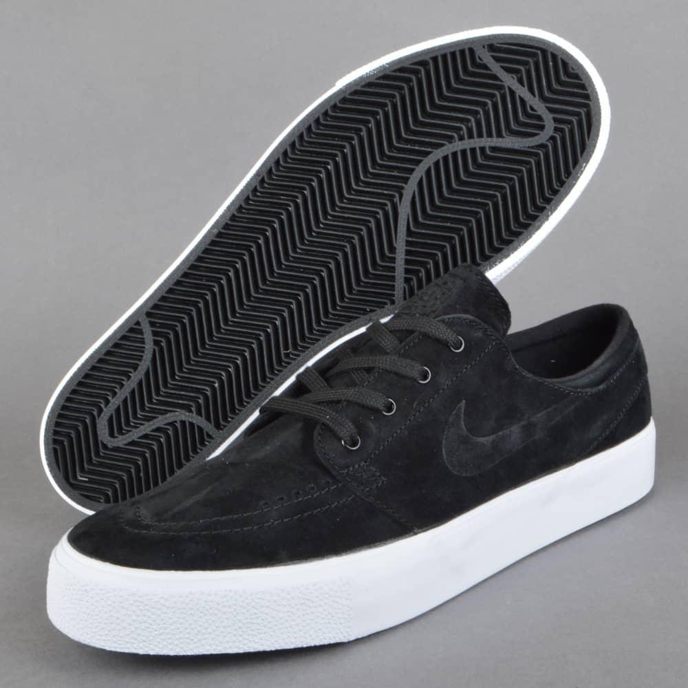 pretty cheap ever popular thoughts on Nike SB Zoom Stefan Janoski Prem HT Skate Shoes - Black/Black ...