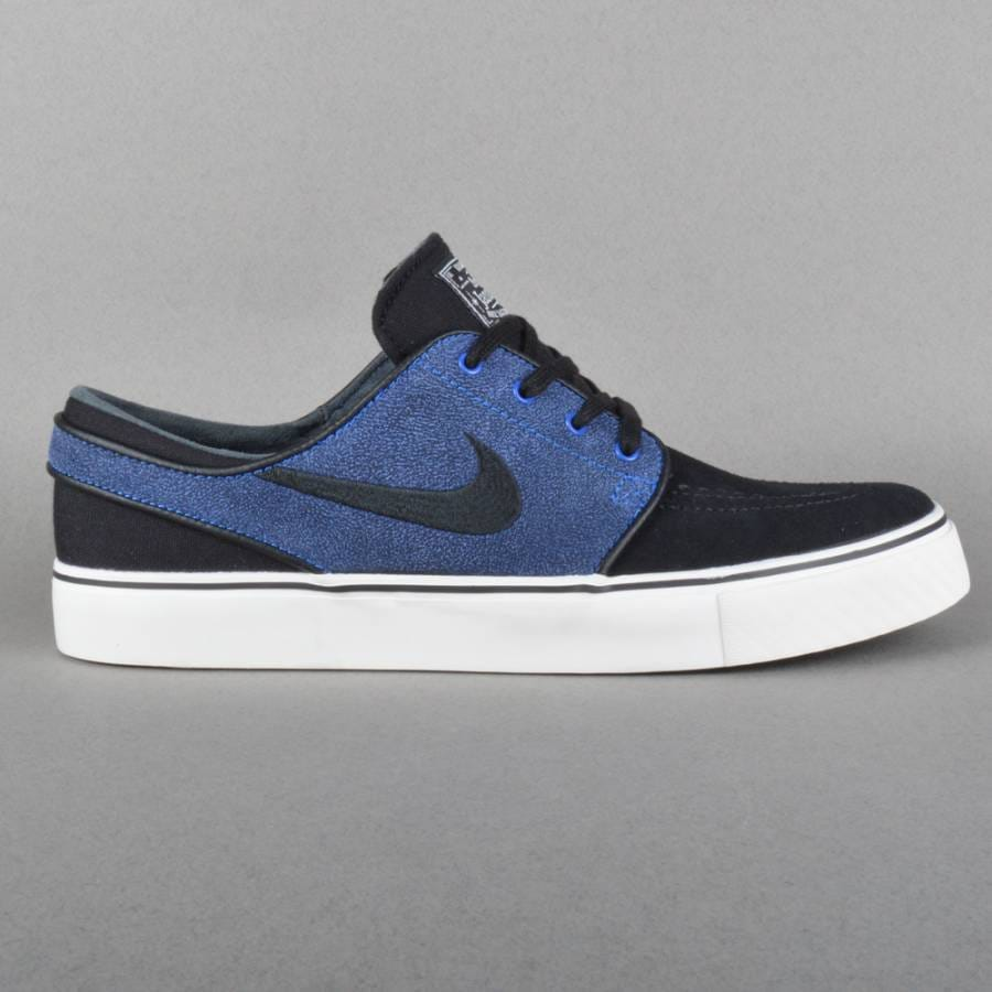 nike sb zoom stefan janoski skate shoes black black game. Black Bedroom Furniture Sets. Home Design Ideas