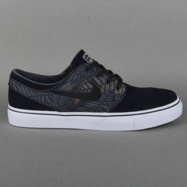 nike sb zoom stefan janoski skate shoes black black