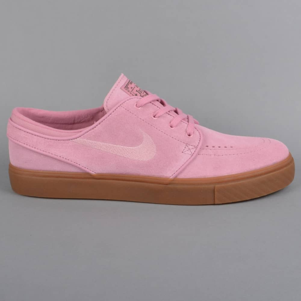 1dc1659875 Zoom Stefan Janoski Skate Shoes - Elemental Pink Sequoia Gum Dark  Brown Elemental