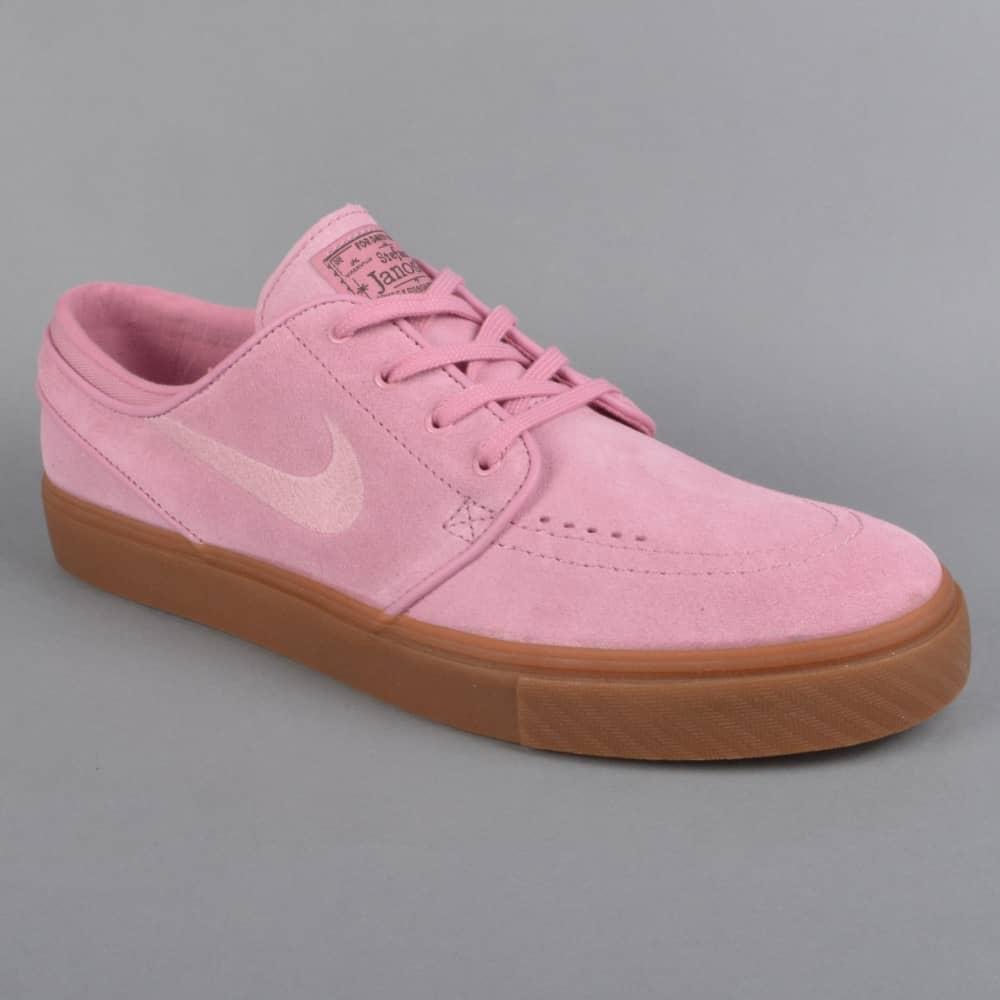 4c3ad2991965 Zoom Stefan Janoski Skate Shoes - Elemental Pink Sequoia Gum Dark Brown  Elemental