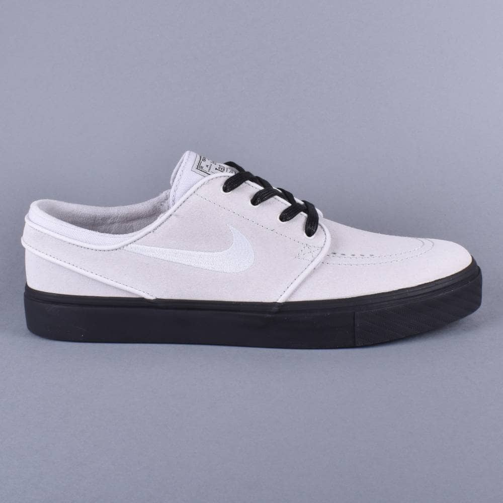 0878a30135fd0 Nike SB Zoom Stefan Janoski Skate Shoes - Vast Grey Vast Grey-Black ...