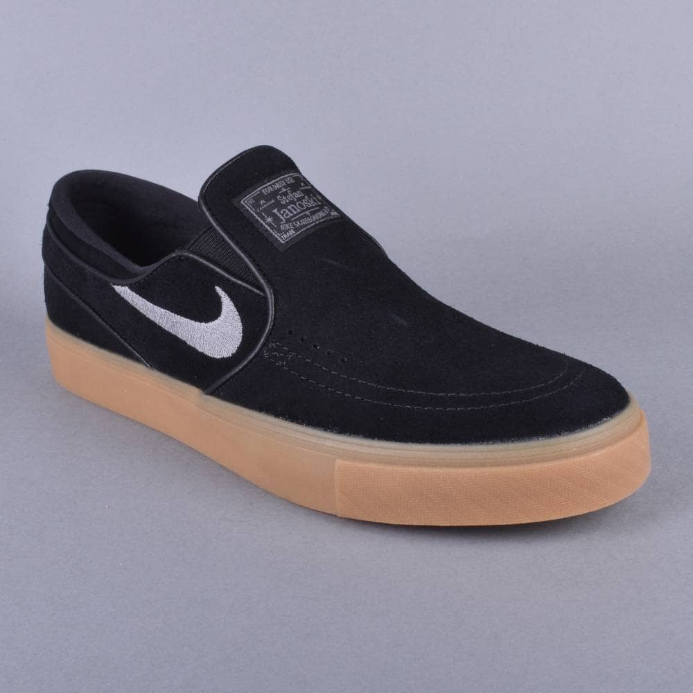 Stefan Janoski Slip Gum Light Browngunsmoke Skate Shoes Zoom Blackgunsmoke DHIWE29
