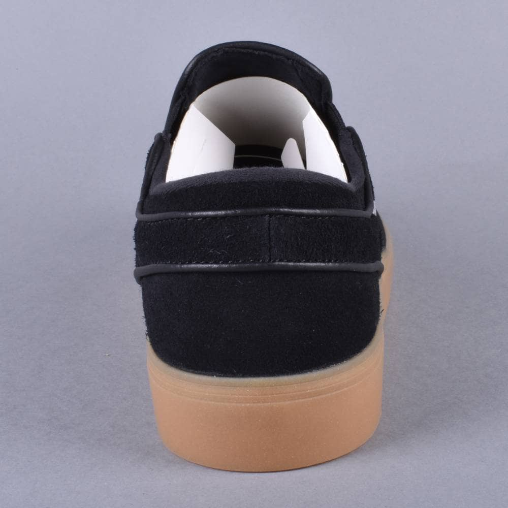 811dd3f6bace4d Zoom Stefan Janoski Slip Skate Shoes - Black Gunsmoke Gum Light Brown  Gunsmoke