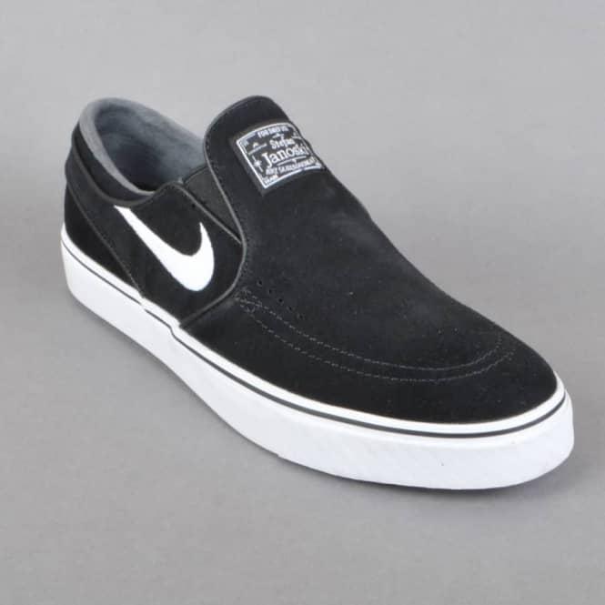 wide range super specials sale retailer Zoom Stefan Janoski Slip Skate Shoes - Black/White
