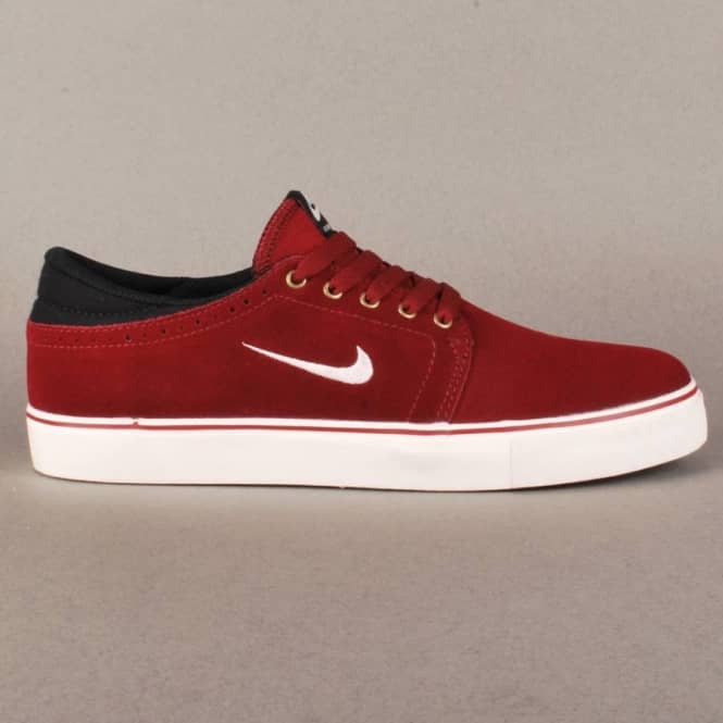 Zoom Team Edition SB Skate Shoes - Team Red/Sail-Black