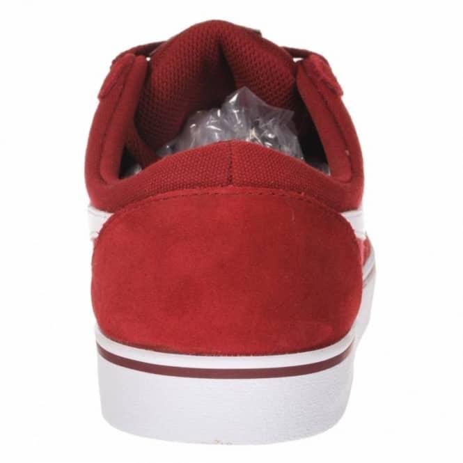 a0b155c39d8 Nike SB Nike Vulc Rod Team Red White Skate Shoes - Mens Skate Shoes ...