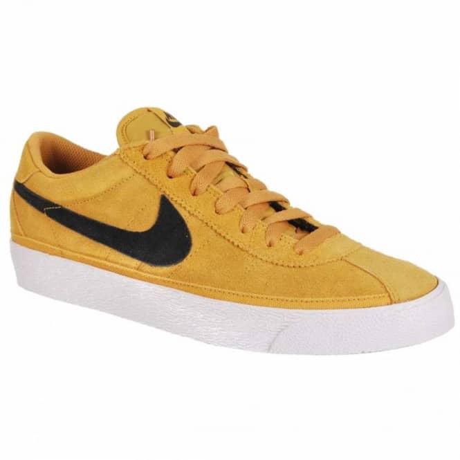 c37cc9ad3a11 Nike SB Nike Zoom Bruin SB Black Golden Straw Sanded Gold Skate ...