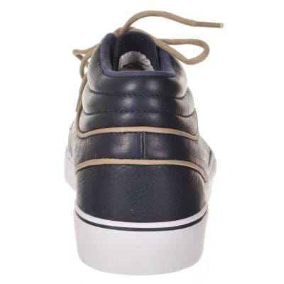 reputable site d98b5 5c43c Nike Zoom Stefan Janoski Mid Pr Marine Khaki-Gum Light Brown Skate Shoes