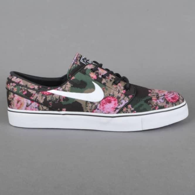 size 40 7e2c4 d332d Nike Zoom Stefan Janoski PR Digi Floral - Multi Colour Black