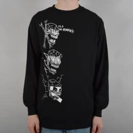 No Brainers Longsleeve T-Shirt - Black
