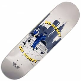 Hotel Blue Skateboards No Money No Honey Skateboard Deck 8.5""