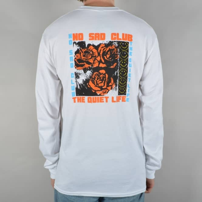 The Quiet Life No Sad Club Longsleeve T-Shirt - White
