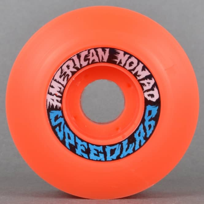 Speedlab Wheels Nomad Minis 99A Red Skateboard Wheels 55mm