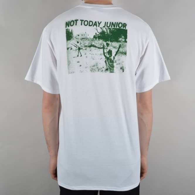 Hockey Skateboards Not Today Skate T-Shirt - White