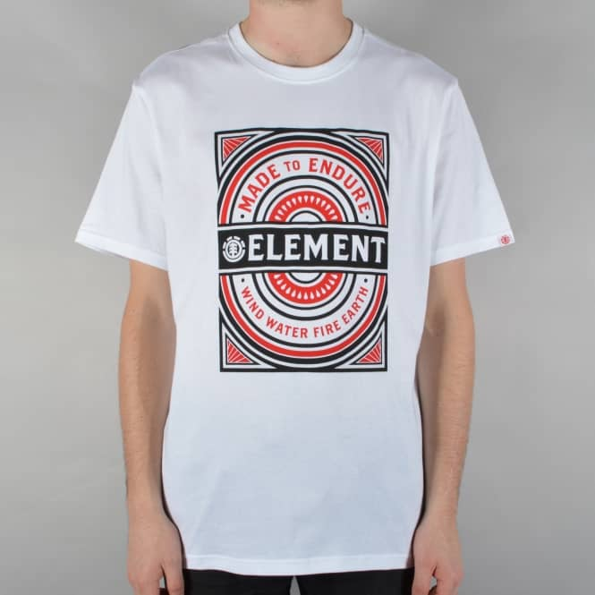 Element Skateboards Note T-Shirt - White