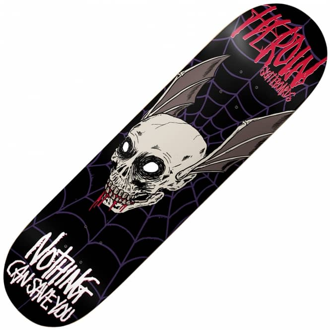 Heroin Skateboards Nothing Can Save You Skateboard Deck 8.625