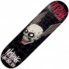 Heroin Skateboards Nothing Can Save You Skateboard Deck 8.625""